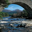 Invercauld Bridge by derekwallace