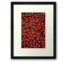 At a Vegetable shop Framed Print