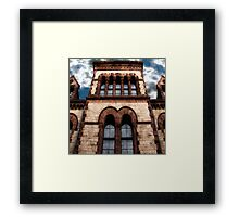 Reflections Of Higher Learning Framed Print