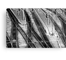On Track Metal Print