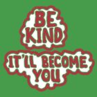 BE KIND tee by James Lewis Hamilton