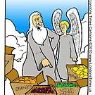 God Didn&#x27;t Make Little Green Apples by Londons Times Cartoons by Rick  London