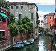Venetian Waterways by Lynne Morris