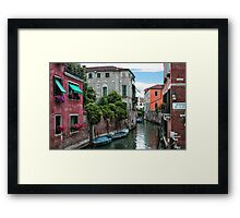 Venetian Waterways Framed Print