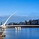 Samuel Beckett Bridge - Dublin, Ireland by Mark Richards