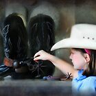 Two Spurs are Better Than One by Kay Kempton Raade