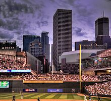 An Evening at Target Field by Steve Murphy