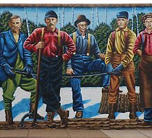Ashland Mural Walk: The Lumberjacks by AuntieJ