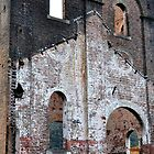 Lithgow Blast Furnace Ruins by Bev Woodman