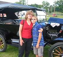 Ford 1923 Model T by Debbie Robbins