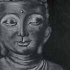 buddah canvas painting by ymadezigns