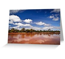 Outback Colour Greeting Card