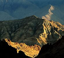 ridge light ladakh by tim buckley | bodhiimages