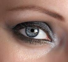 Beauty woman eye by chukephoto