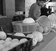 Israeli Melons by Leyla Hur