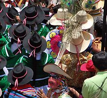 Peruvian Celebration in Easter Time  by Alessandro Pinto