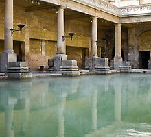 Roman Baths  by Vanessa Goodrich