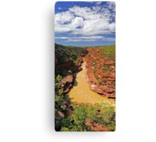 Murchison River Gorge - Western Australia  Canvas Print