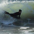 Bodyboarder - Culburra Beach by Noel Elliot