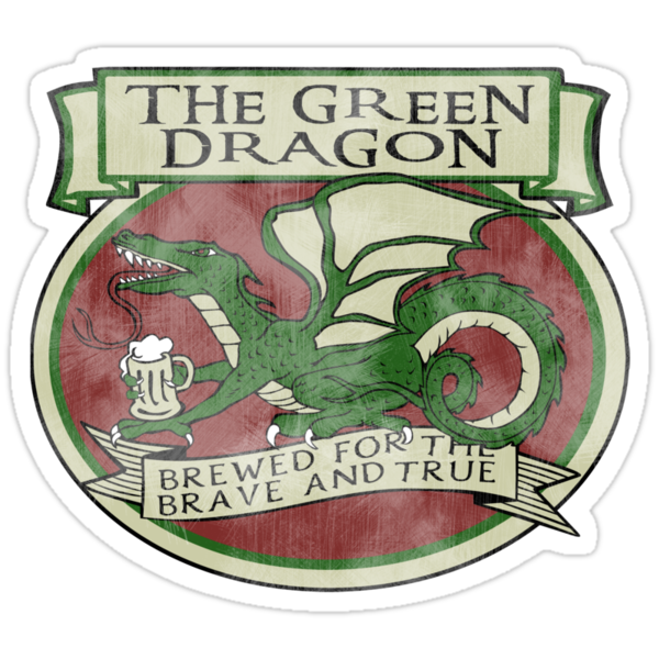 The Green Dragon by Rhonda Blais
