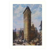 New York (1905 y) Art Print