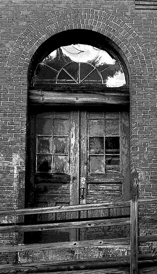 Old Mill Door by OntheroadImage