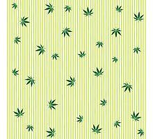Cannabis rain Photographic Print