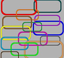 Chain in colors by Laschon Robert Paul