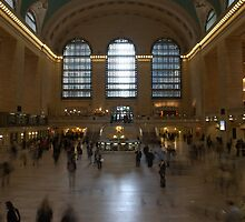 Grand Central Station by Christine Barry
