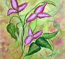 Wild Trilium by Cynthia Kondrick
