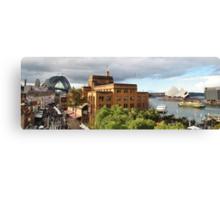The Sydney Icons Canvas Print