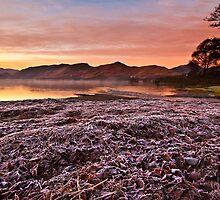Sunrise over Derwent water on a frosty December morn' by Shaun Whiteman