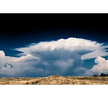 Thunder Head Before the Storm Photographic Print