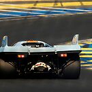 Porsche 917 into Tertre Rouge by Paul Woloschuk