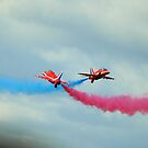 Red Arrows by Mick Smith