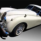 Jaguar XK-120 by Kurt Golgart