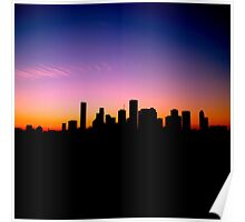 You Left Your Heart in Downtown Houston Poster