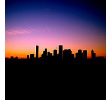 You Left Your Heart in Downtown Houston Photographic Print