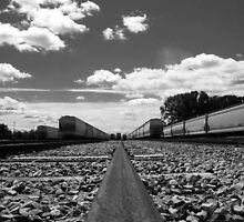 Train Tracks to Heaven by L.D. Bonner