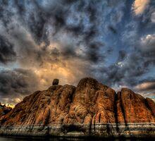 Big Clouds, Bigger Rock by Bob Larson