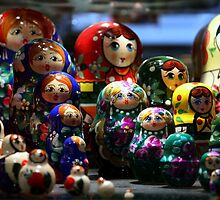 The Russian (Dolls) are coming!  by Deb Gibbons