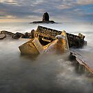 The Wreck 2 - Admiral Von Tromp - Saltwick Bay  by Ian Snowdon /     www.downtoearthimages.co.uk