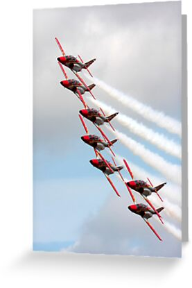 """Patrulla  Aguilla"" Spanish Air Force Display Team by SWEEPER"
