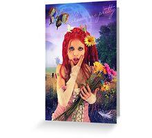 Colour me Pretty Greeting Card