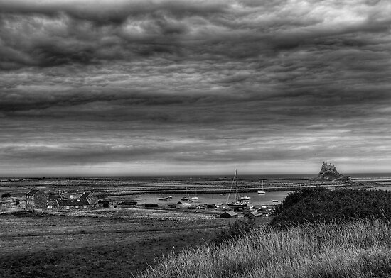 A Grand View of Lindisfarne by Ryan Davison Crisp