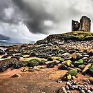 Minard Castle Beach by Polly x