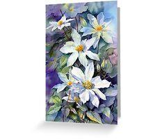 May Morning Clematis Greeting Card