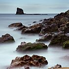 Saltwick Bay - Black Nab by Stewart Laker