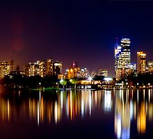 Melbourne City - from Albert Park by Matthew Cosier