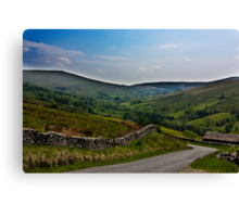 Road to Dent Station Canvas Print